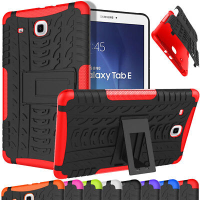 For Samsung Galaxy Tab E 9.6 SM-T560 Shockproof Protective Slim Shell Case Stand