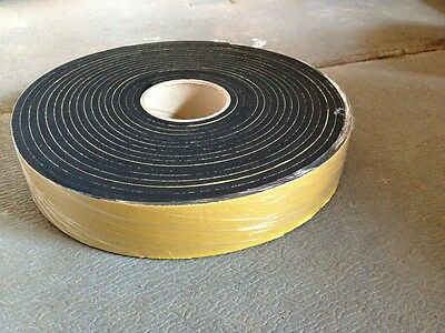 NEOPRENE sponge self adhesive foam strip 40mm x 6mmx 10m *more sizes available*