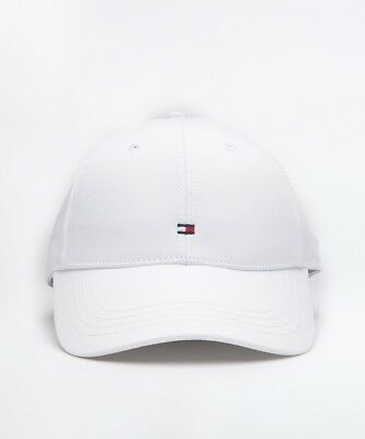 305d5f9b MENS TOMMY HILFIGER Classic Small Logo White Cap (SAC31) RRP £24.99 ...