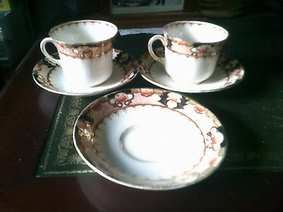 Royal Standard  Cup And Saucers, Fine Bone China, Antique Art Deco China
