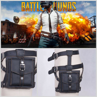 Free shipping PUBG Playerunknown/'s Battlegrounds Belts Waist Pack Drop Leg Bag #