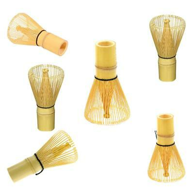 New Japanese Ceremony Bamboo Matcha Green Tea Whisk Stand Holde Scoop Bowl Set