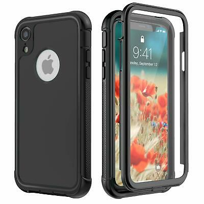 For Apple iPhone XR Case Built-in Screen Protector XS / XS MAX Cover Shockproof