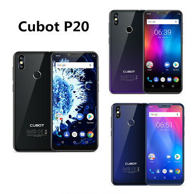 "6.18"" Cubot P20 4G Smartphone Unlocked MTK6750T Android8.0 4GB+64GB 16MP 4000mAh"