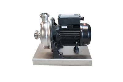 240 Volt Centrifugal Brewing PUMP for use with cask & keg washers
