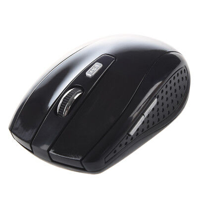 Wireless Optical Mouse, Black B9R6