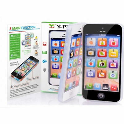 YPhone Toy English Educational Mobile Phone Kids Children Iphone Baby Gift