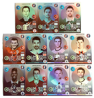 2016 Panini ADRENALYN XL EURO France - HERO Limited Edition cards