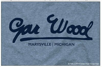GAR WOOD BOATS, in SPORT GREY short sleeve