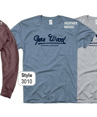 GAR WOOD BOATS,  in HEATHER INDIGO short sleeve