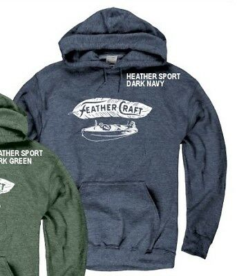 FEATHER CRAFT BOATS, Atlanta Georgia HEATHER SPORT NAVY HOODY