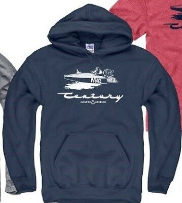 CENTURY BOATS, HURRICANE in Navy Hoody