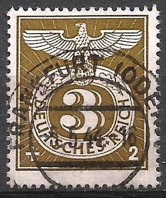 Germany (Third Reich) 1943 used - Special Cancellation Stamp Mi:830, SG 818
