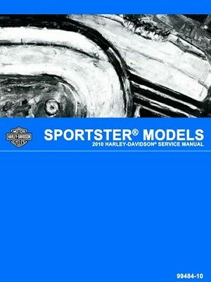 2010 Harley-Davidson Sportster Models Service Manual, Part No. 99484-10