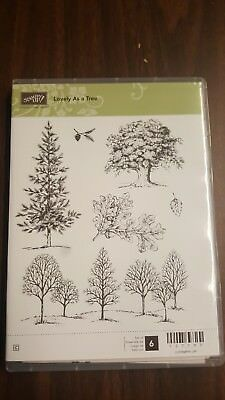 Stampin Up ~Lovely As A Tree **New - Unmounted **