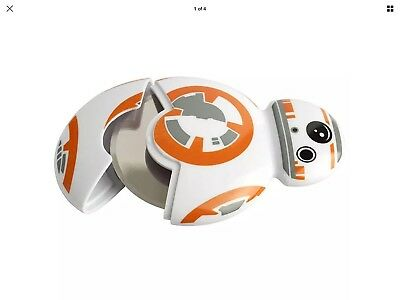Official Licensed Disney Star Wars BB-8 Droid Shaped Pizza Cutter