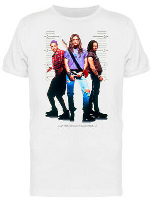 Airheads Movie Cover Rock Graphic Men's White T-shirt