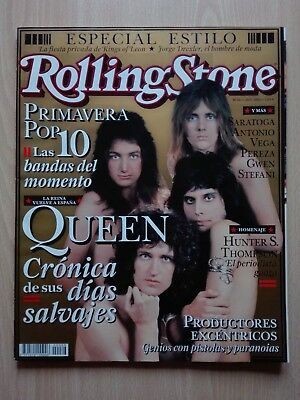 Revista Rolling Stone – ''Queen'' With Kings Of Leon, Iron Maiden, U2... 2005