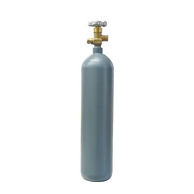 4 lb Reconditioned Steel CO2 Cylinder CGA320 Valve - Fresh Hydro! Free Shipping!