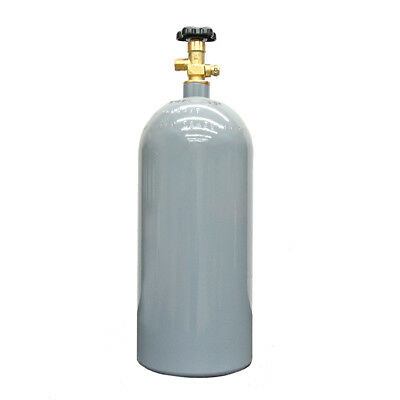 10 lb Reconditioned Steel CO2 Cylinder CGA320 Valve - Fresh Hydro! Free Shipping
