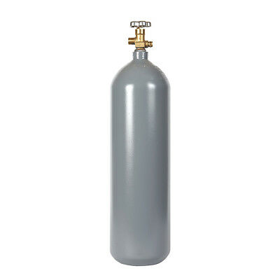 15 lb Reconditioned Steel CO2 Cylinder CGA320 Valve - Fresh Hydro! Free Shipping
