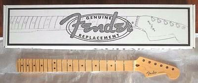 "Fender® USA One Piece Maple Strat Neck~9.5""-14 Compound Radius~22 Fret~Brand New"