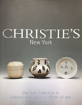 Christies Catalogue Sept 2001: The Falk Collection Pt2 Chinese Works Of Art