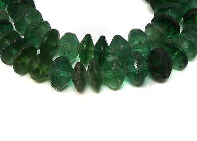 Vaseline Trade Beads Green Bohemian Africa SALE WAS $55.00