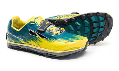 cedfad55bc6 Altra Men s King MT 1.5 Lace Up Mountain Trail Running Shoes Yellow Size  9.5M