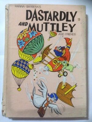 DASTARDLY AND MUTTLEY Annual 1973. Fair Condition. **Free UK Postage**