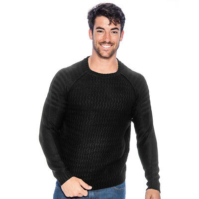 True Rock Men's Crewneck Sweater