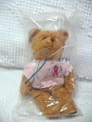 2001 Avon Breast Cancer Crusade Bear Sealed 7 Inch