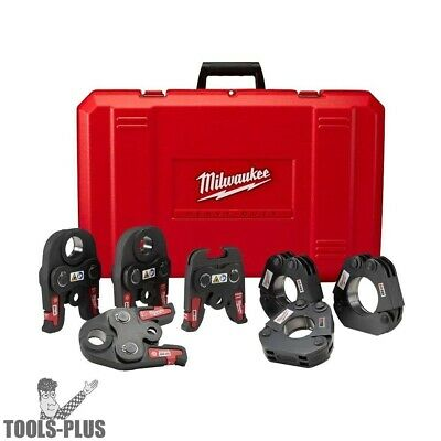 "Milwaukee 49-16-2697 Black Iron Press 1/2"" - 2"" Kit New"