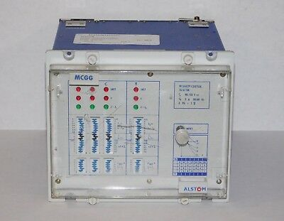 Alstom MCGG MCGG82P1CD0753 Industrial Machine Overcurrent Protection Relay USA