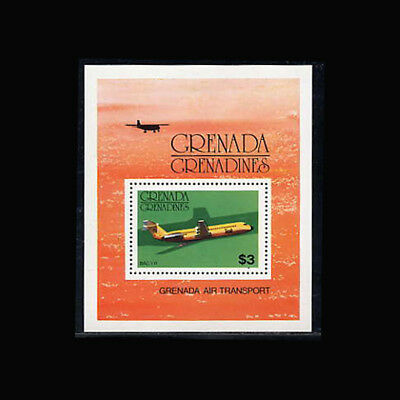 Grenada Grenadines, Sc #188, MNH, 1976, S/S, Aircraft, BAC 1-11, Aviation, 1118