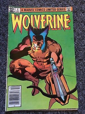 Wolverine Volume 1 #4 December 1982 Marvel Comics