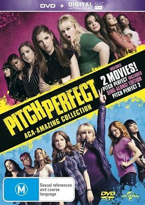 Pitch Perfect 1 & 2 DVD NEW *2 Movie Collection* R4