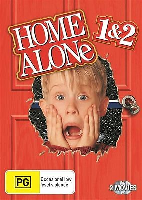 Home Alone 1 & 2 Collection DVD NEW R4 *2 Movie Collection* Christmas Classic