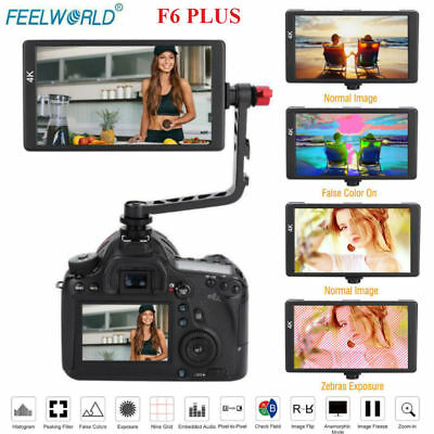 Feelworld F6 PLUS 1920x1080 4K HDMI Monitor On Camera Video Monitor for DSLR