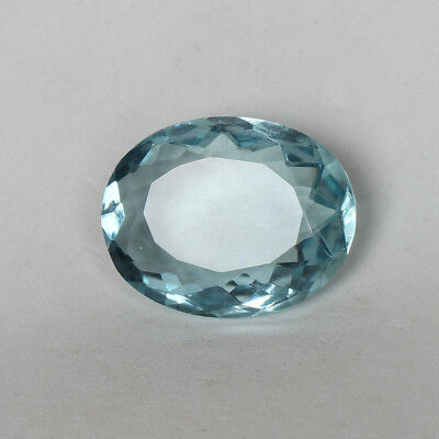 50.60 Ct. Natural Aquamarine Greenish Blue Color Perfect Oval Cut Loose Gemstone