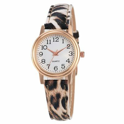 New Fashion Watch Leopard Print Watch Analog Watch for Gift Leather Quartz Watch