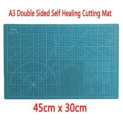 45x30CM A3 Double Sided Self Healing Rotary Knife Cutting Mat Paper Cut Board CP