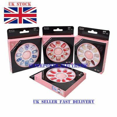 Technic Tip Top False Nail with Glue Tips All Colour Full Nail Tip Set of 4 Xmax