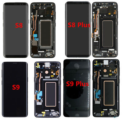 LCD Screen Display Touch Digitizer Frame For Samsung Galaxy S8 S8+ S9 S9+ Plus