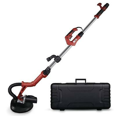 Pro Electric HandHeld Drywall Sander 710W Variable Speed,Vacuum&LED Light Tools