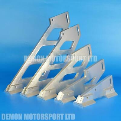 Alloy Spoiler Brackets with Mounting Feet (Select Height) Demon Motorsport