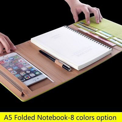 A5 loose leaf notebook stationery business diary office hand book binder agenda
