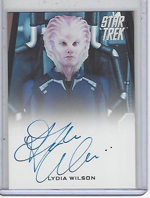 Star Trek Beyond Movie (2017) Lydia Wilson autograph