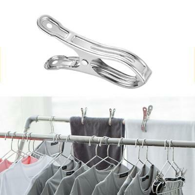 10PCS Stainless Steel Beach Towel Clips Keep Your Towel From Blowing Away