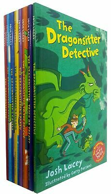 The Dragonsitter series 8 Books Collection Set Josh LaceyChildren's pack NEW